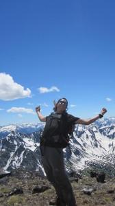 Lost Peak summit stoke