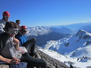 Top of Face Mountain