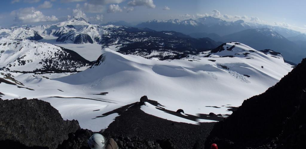 Beautiful views over Garibaldi Lake. (Jens Vent-Schmidt)