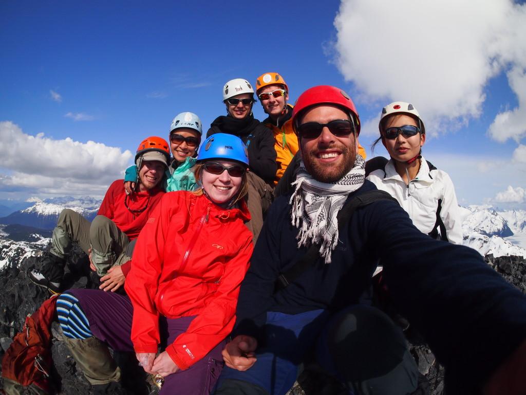 Summit-selfie. (Rouven Volkmann)