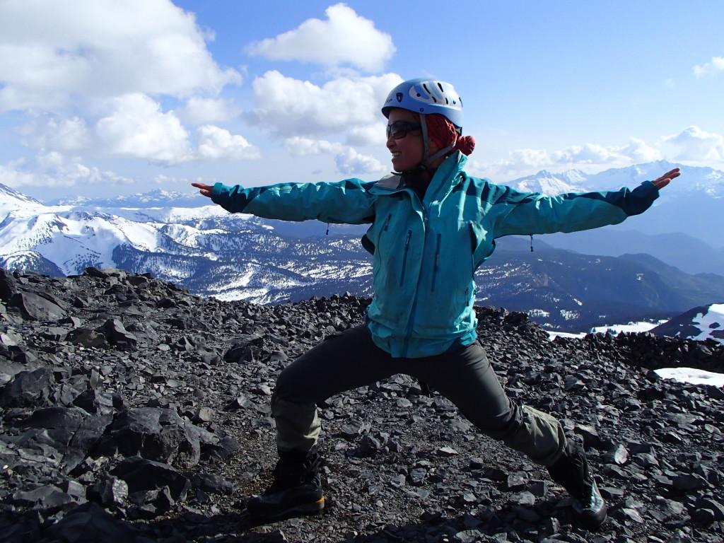 Alpine Yoga. (Jens Vent-Schmidt)