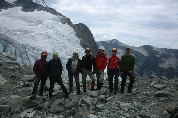Post glacier group photo