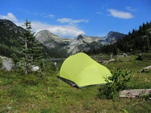Camp at Phelix Creek