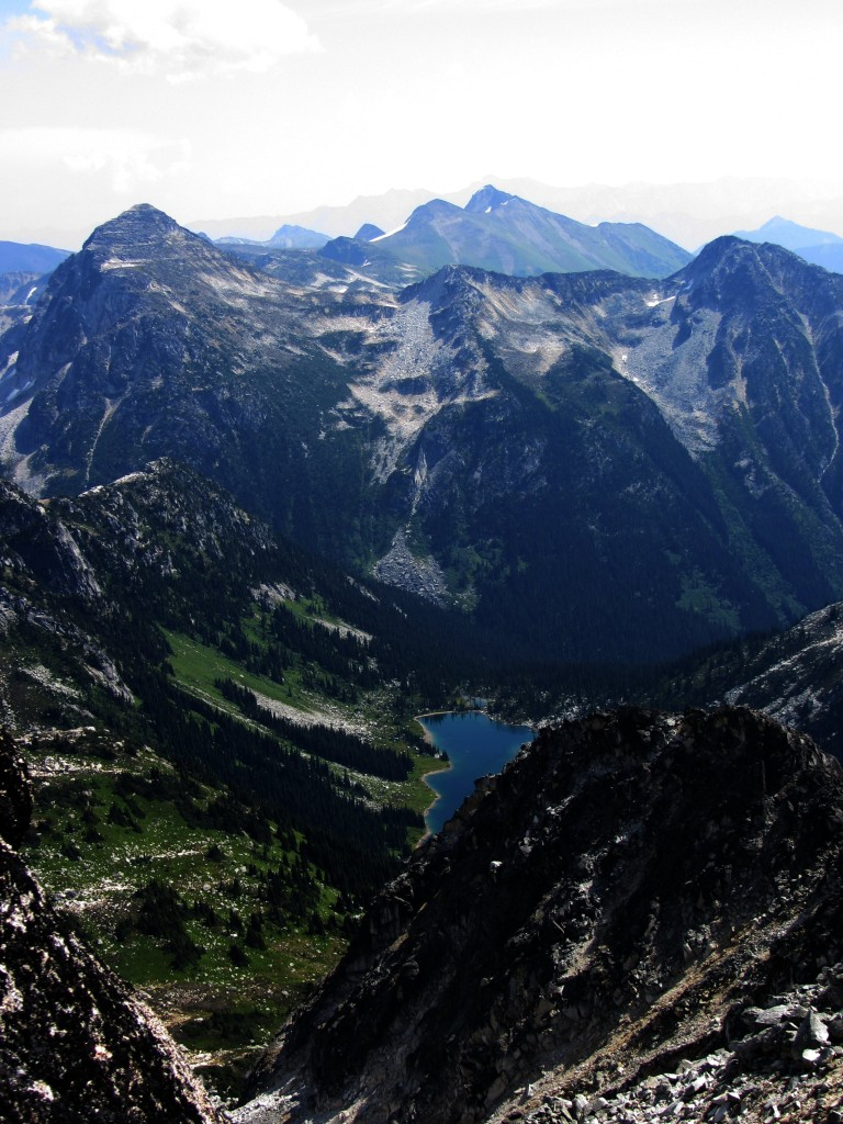 View from Mt. Gandalf