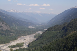 Descent to the Lillooet River