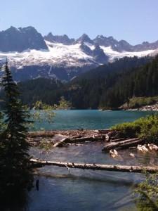 Lake Lovely Water from Bridge