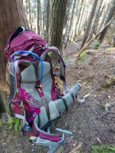 Pack on Lovely Water Trail