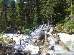 The new and complete, Barr Creek Bridge. Photo: Jeff Mottershead