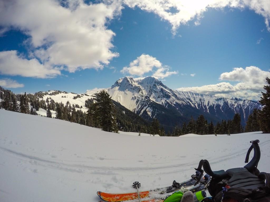 Garibaldi massif from Brohm Ridge