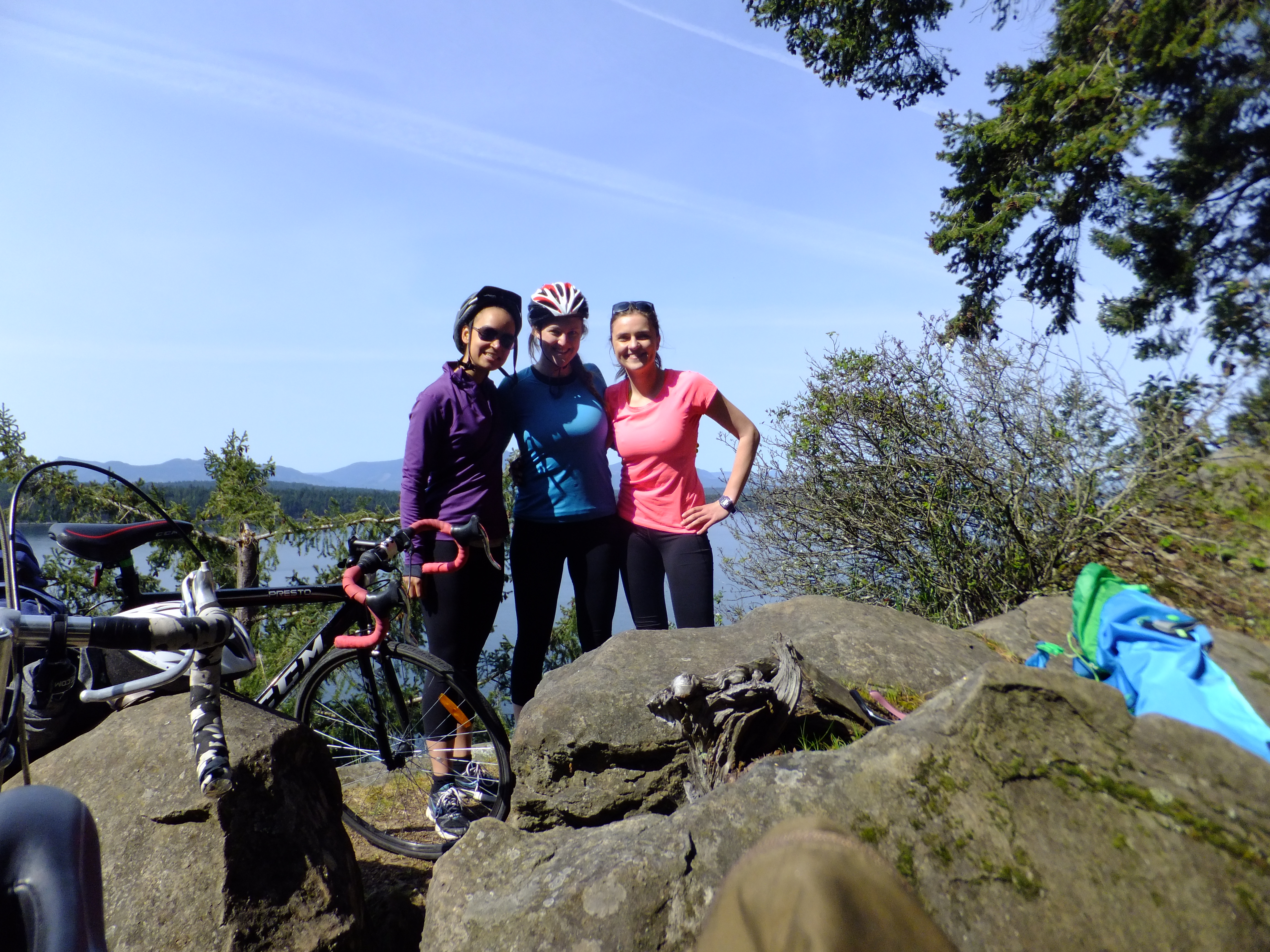Cycle Touring Galiano Island