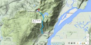 4220 Quarry Rd  Coquitlam  BC V3E to Dennett Lake Trail  Coquitlam  BC V3E 3H1   Google Maps
