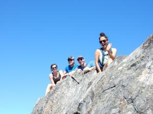 Atop Crown Mountain