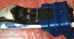 Ski crampons mounted!