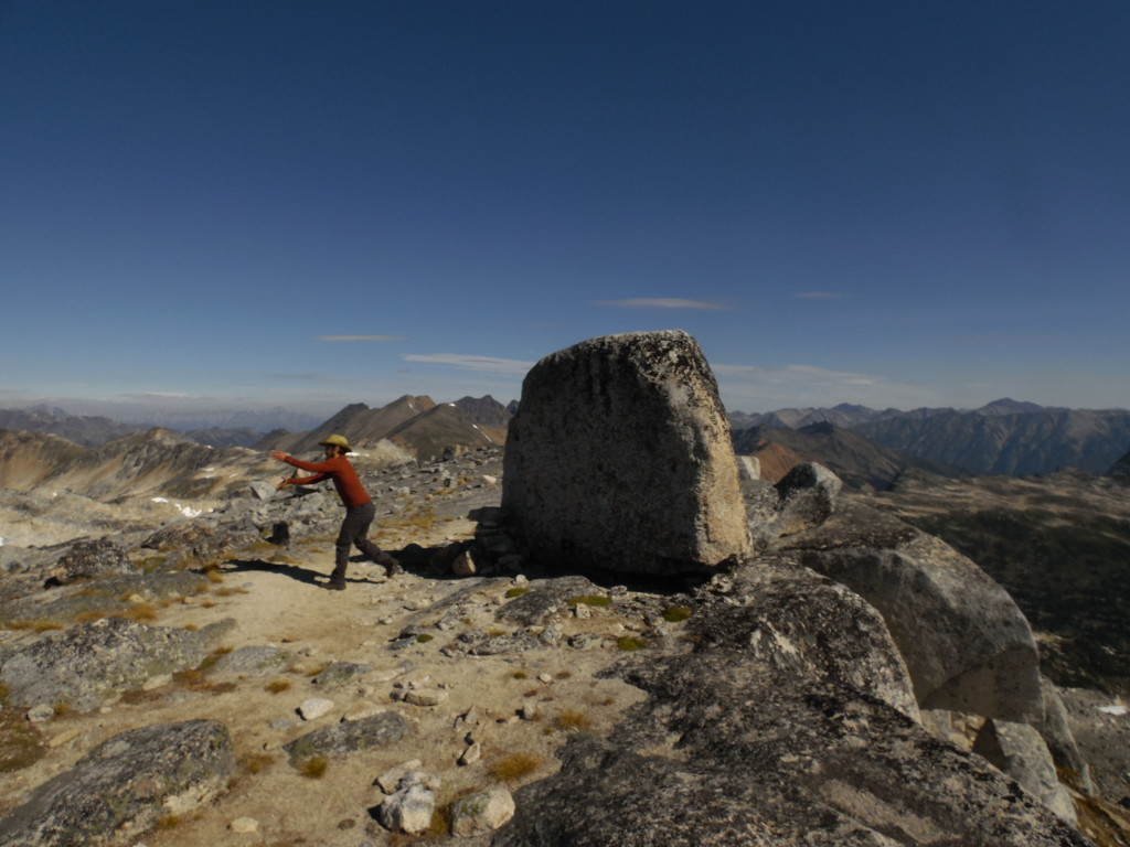 """Artem in action- destroying the """"cheat ups"""" to the Aragon boulder"""
