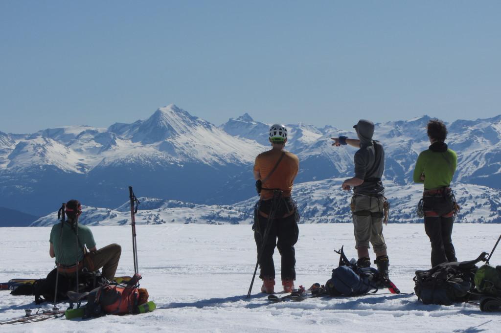 Admiring the view - photo: Martin