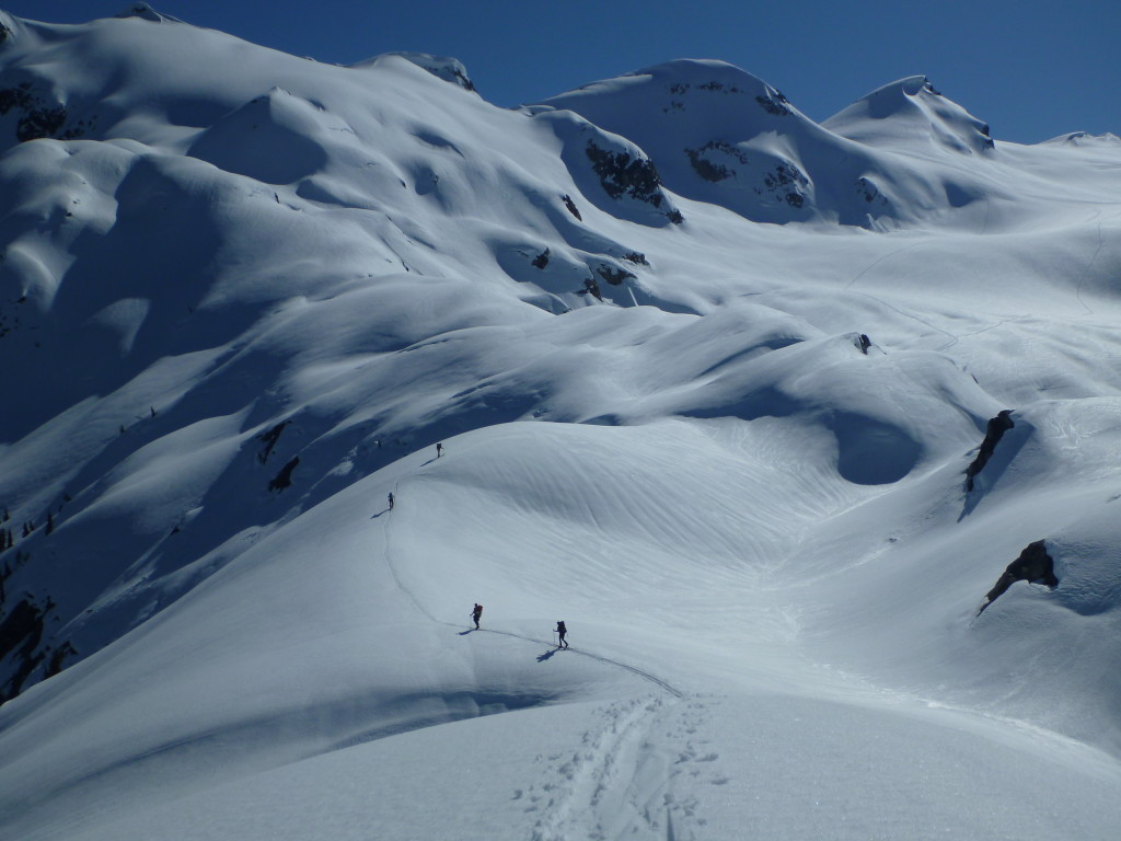 Heading onto the glacier - photo: Jeremy