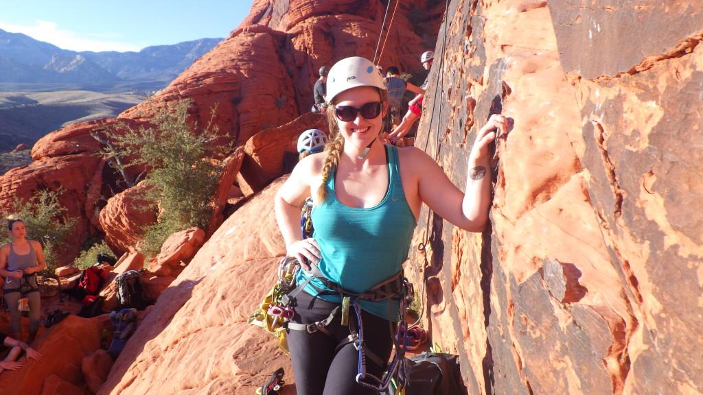 Cora at Panty Wall