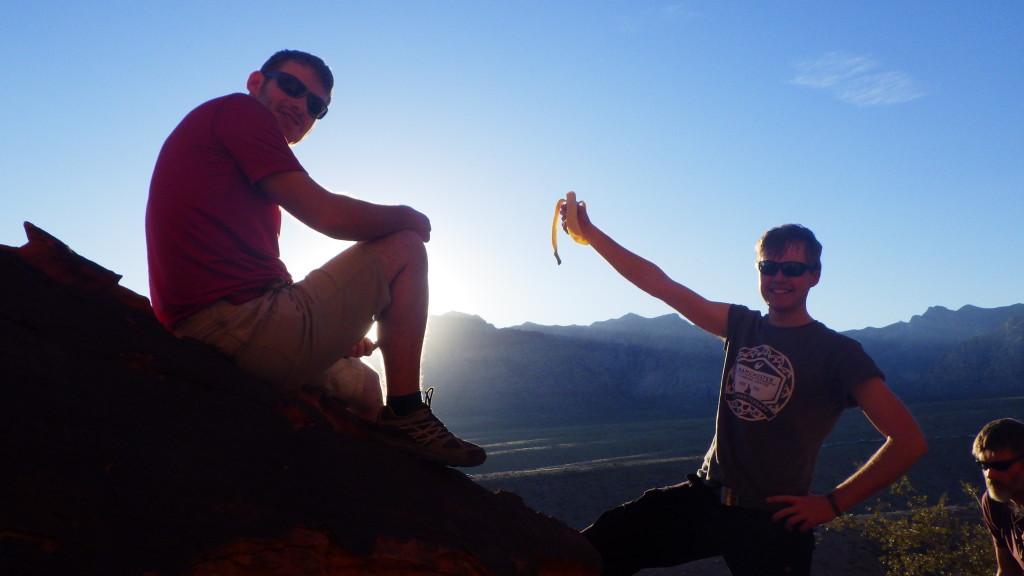 Mike and Jake at Panty Wall