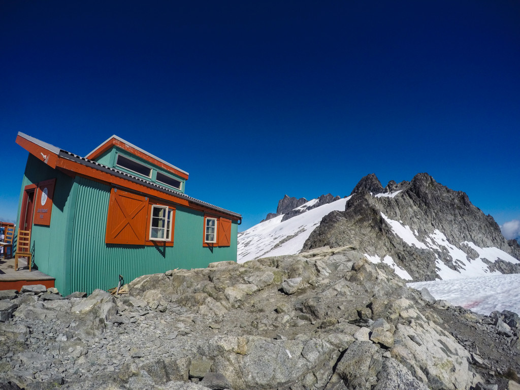 The Jim Haberl Hut. Photo: Matteo Agnoloni