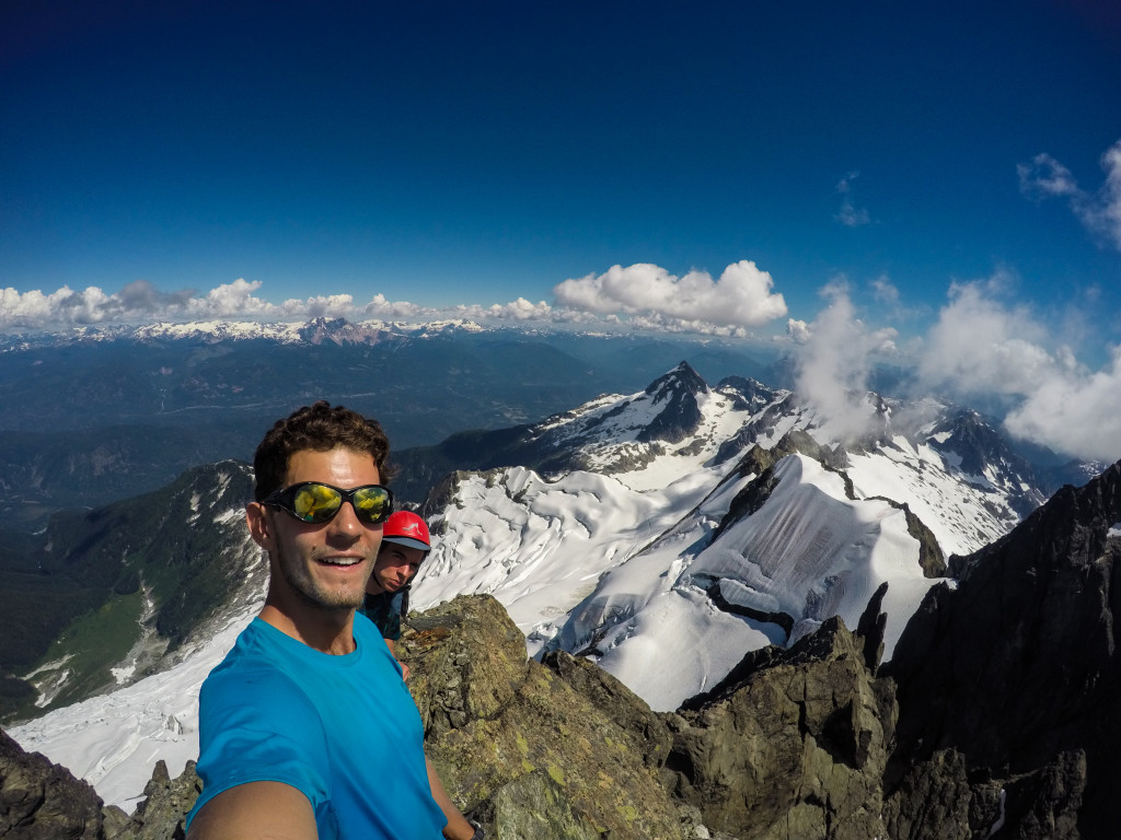 Tantalus summit selfie! Photo: Matteo Agnoloni