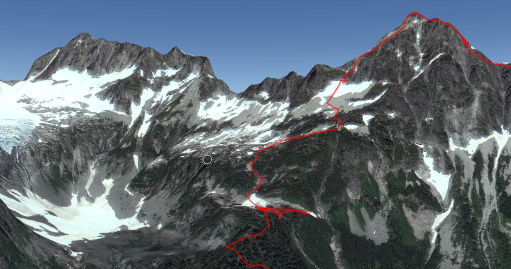 Alpha West Ridge Descent.