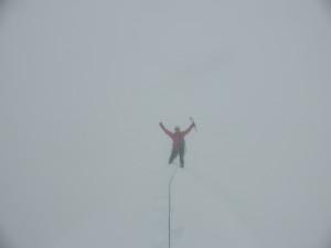 Else happy on the summit.