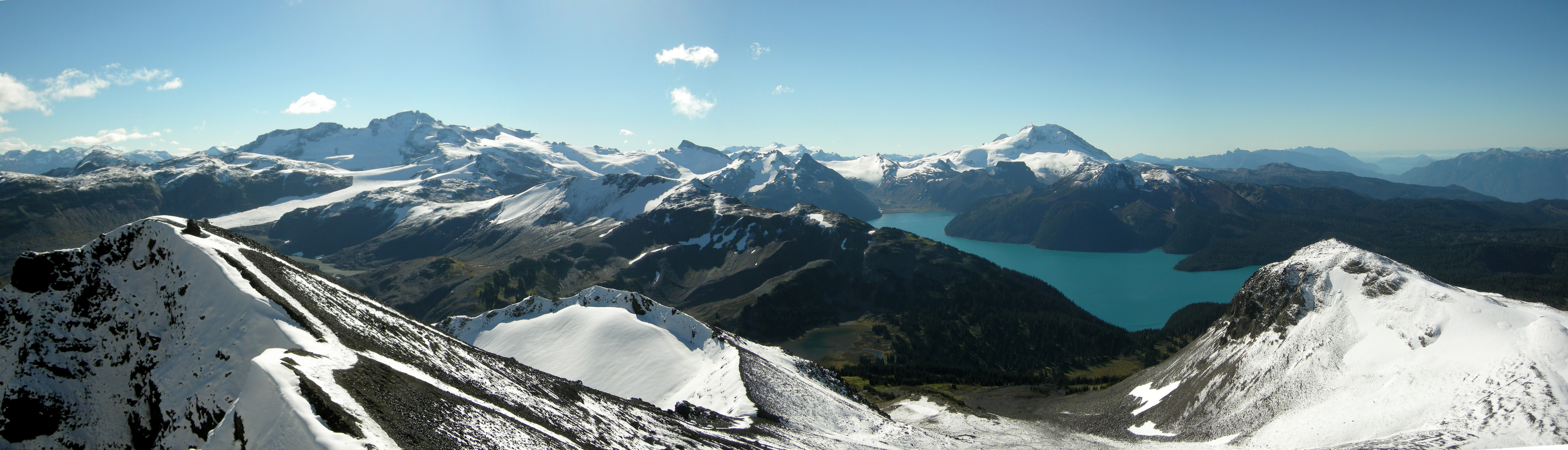 Great views from Black Tusk. photo G. Savard