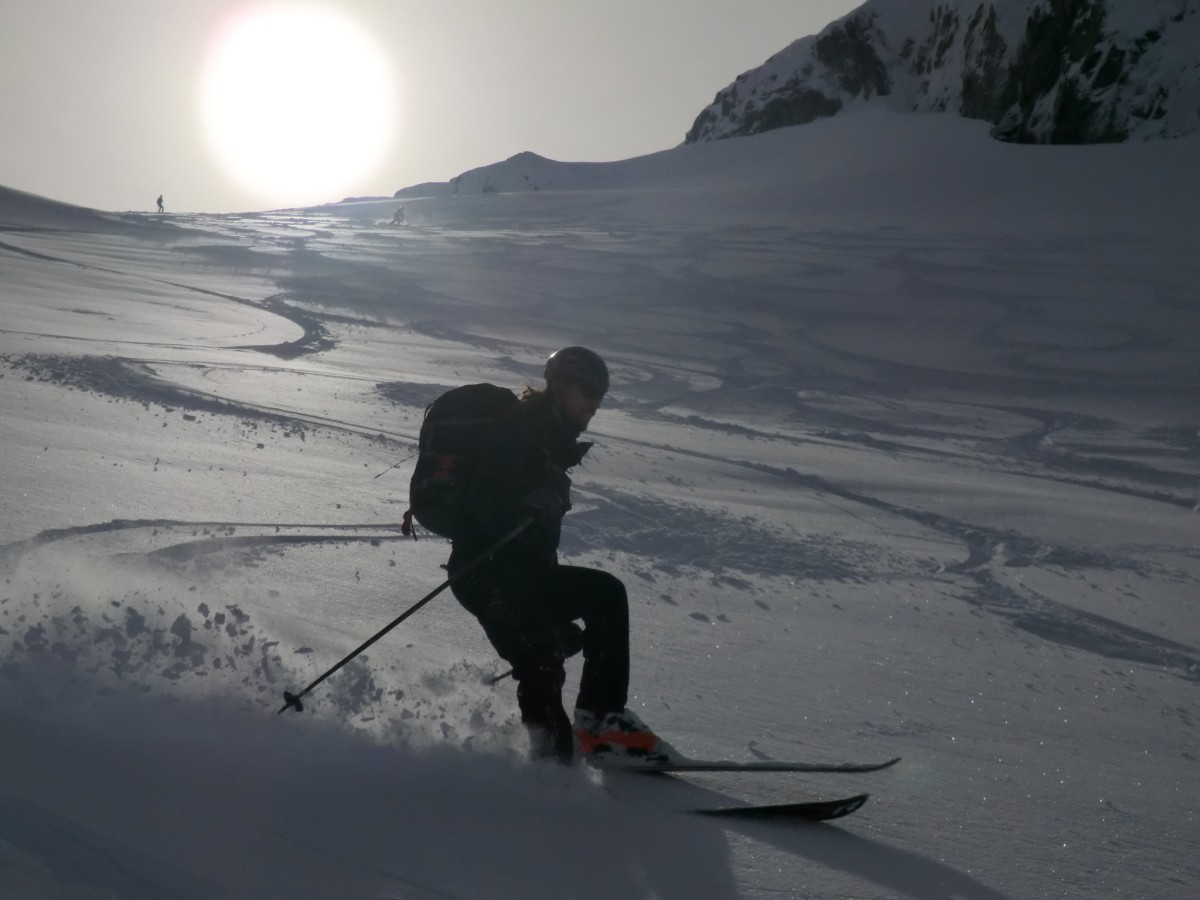 The fateful slope how it is meant to be skied