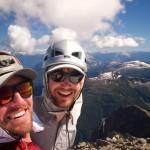 Mt Alfred selfie (Photo: S. Higgs)