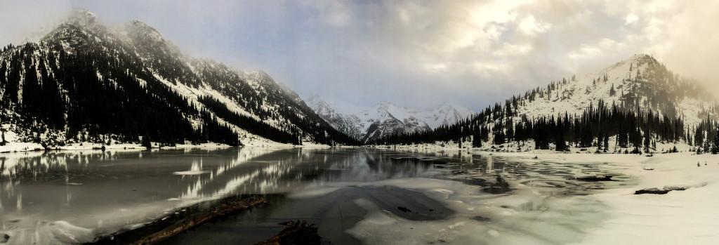 Long Lake, from the Brian Waddington hut. Credit - Nathan