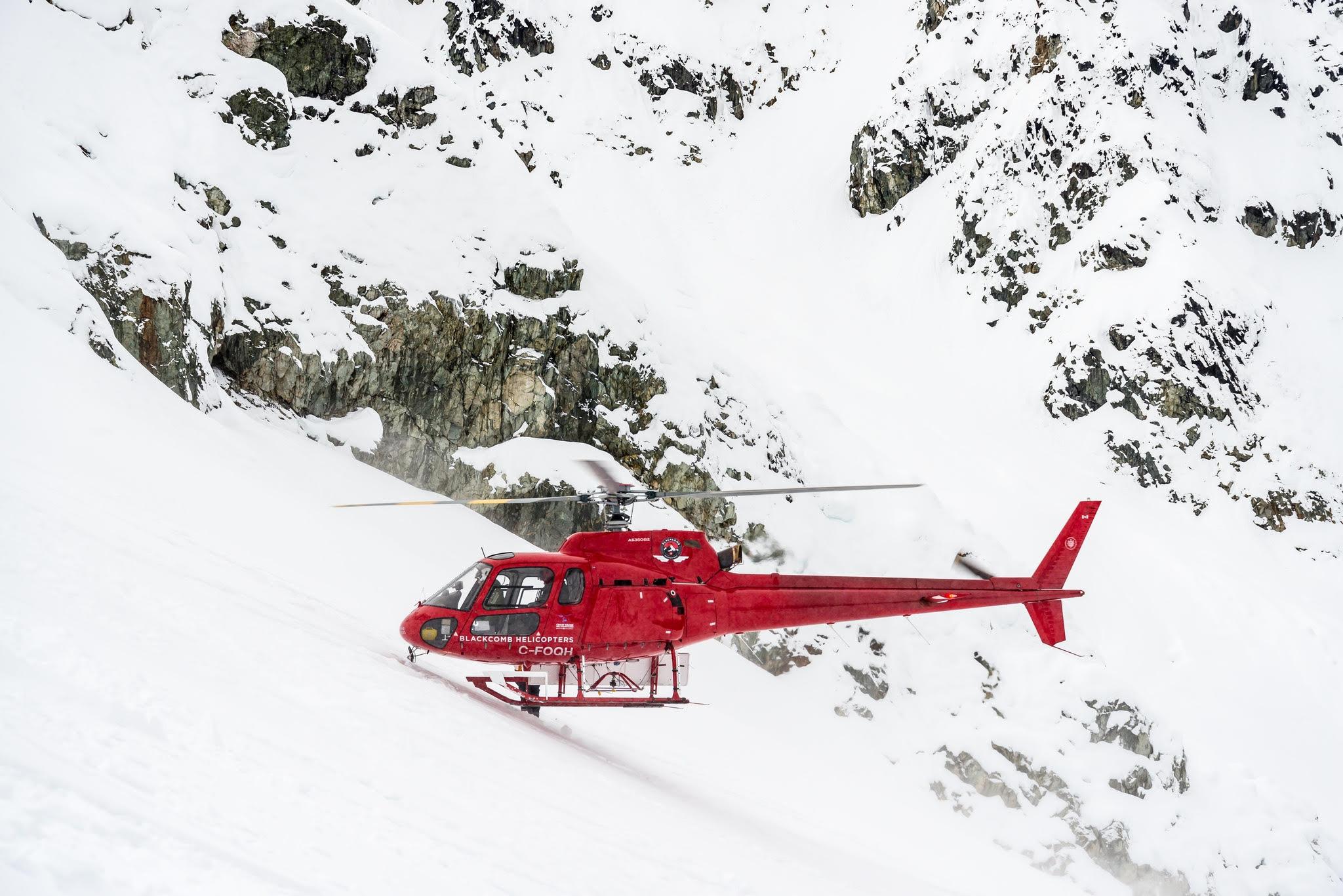 Mountain rescue arrive