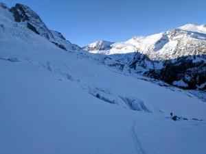 Crevasses and Icefalls