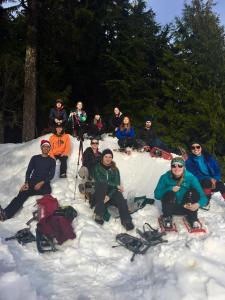 Lynn Peak snowshoe