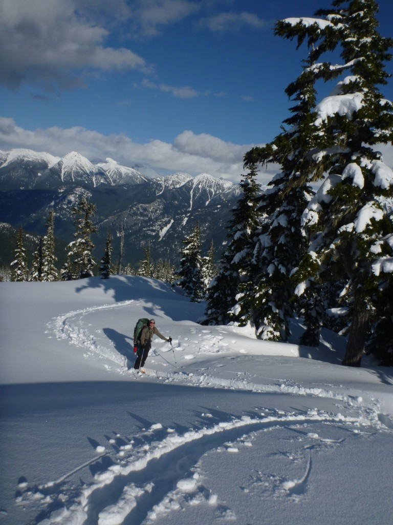 On the ridge. Photo: Julien Renard