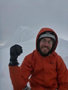 The summit ridge. Photo: Caitlin Schneider