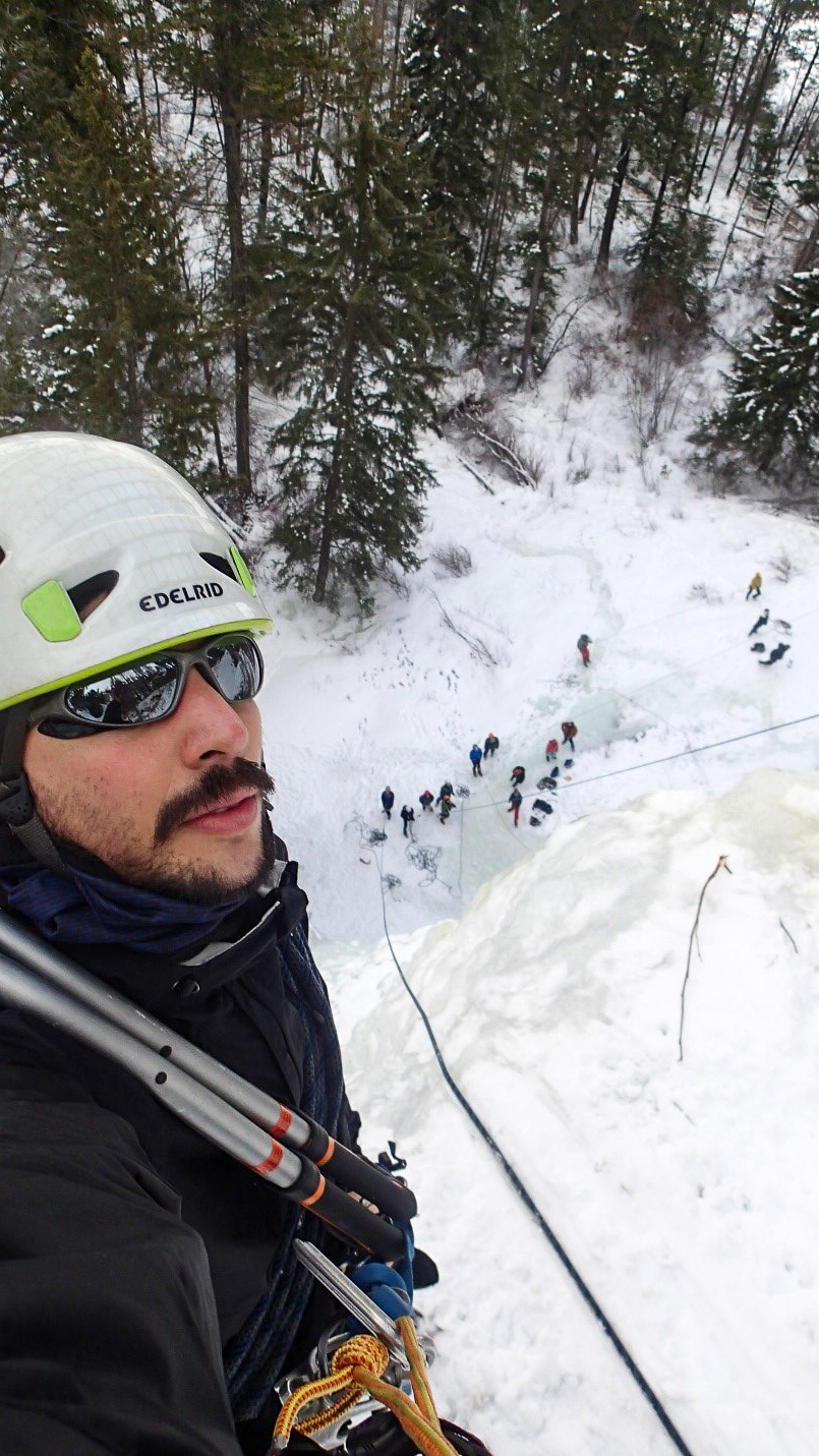 Picture of Federico at the top.