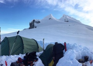 Camping under Garibaldi - Photo Lianne M