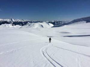 Beautiful weather on the glacier - Photo Alex J