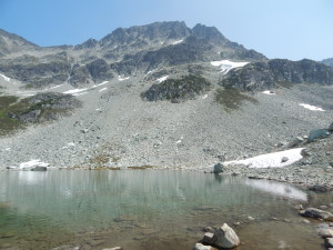 Blackcomb Lake & Peak