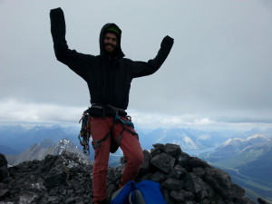 Yours truly on the summit