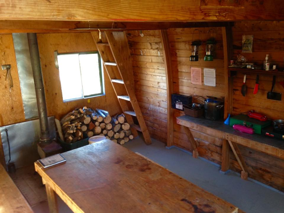 The new Harrison Hut Floor all complete!