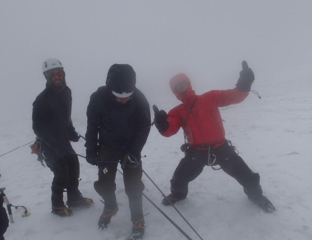 Alberto, Matt and Elliott showing some GS2 stoke.