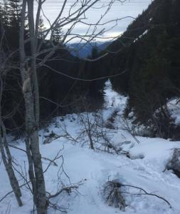 10/10 ski out