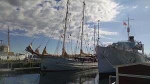 The Port at Halifax, Nova Scotia