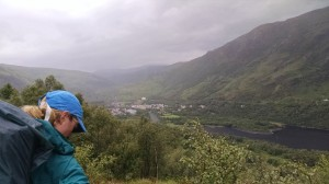 Looking back at Kinlochleven