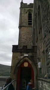 The entrance to The Three Wise Monkeys, Fort William