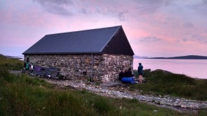 Bell's Bothy at Sunset