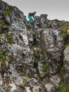 Aonach Eagach Ridge, ft. Kelsey