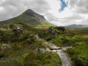 Heading to Camasunary via the Skye Trail