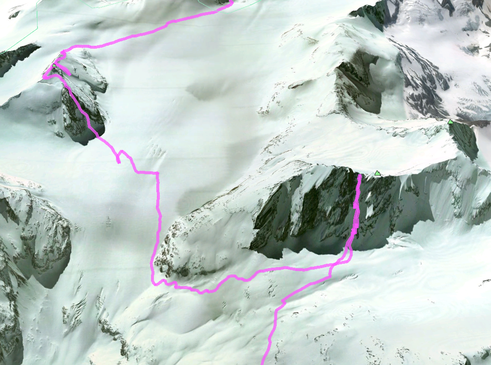 Our GPS track from day 2.